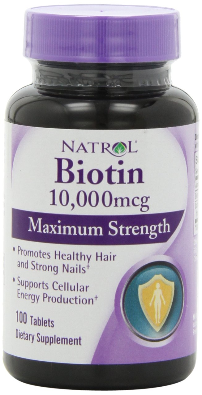 Natrol Biotin - 10,000mcg - Vitamin for Hair