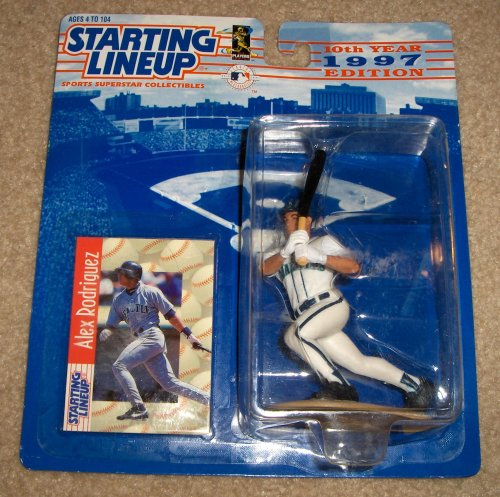 1997 Alex Rodriguez MLB Starting Lineup Figure