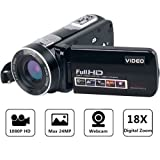 Camcorder Full HD Digital Camera Portable Mini Handheld Camcorder Digital Video Camera Camcorders With IR Night Vision 24.0 Mega pixels DV 3