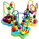 seguryy 1pc Colorful Wooden Mini Bead Educational Toys for Baby & Toddler Toys [For 9+ months]
