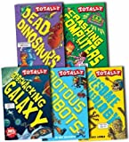 Various Totally Brilliant Collection 5 Books Box Set Pack RRP: £29.95 (Horrible Histories Science Collection) (Crashing Computers, Gobsmacking Galaxy, Riotous Robots, Deadly Dinosaurs, Awesome Archaeology)