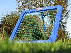 RAPID FIRE TYPHOON Baseball Rebound Pitchback Net (42x42) - Amazing training aid for... by Net World Sports