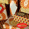 Bright Stem Sheets of Mixed Wrapping Paper (folded) and Tags (3)