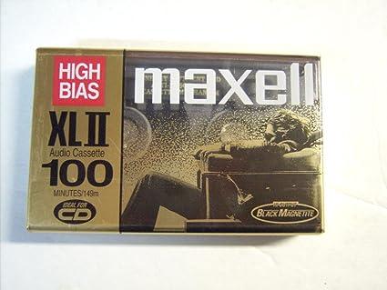 Tape High Bias Maxell High Bias Xlii 100