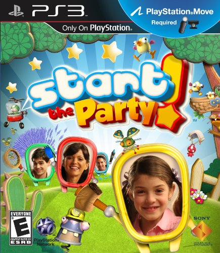 Start the Party (Motion Control) - Playstation 3 - 1