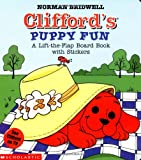 Clifford's Puppy Fun with Sticker (Clifford the Big Red Dog) (043922943X) by Bridwell, Norman