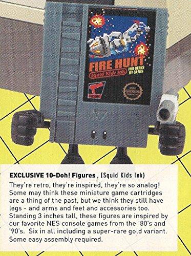 "10-Doh! So Analog ""Fire Hunt"" Loot Crate Exclusive Series 1 Designer Vinyl Mini Figure"