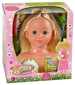 Klein 5219 Princess Coralie Make-up And Hairstyling Head 25 Cm With Accessories by Princess Coralie