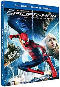 The Amazing Spider-Man 2 : Le destin d'un héros [Combo Blu-ray 3D + Blu-ray + DVD + Copie digitale]
