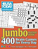 img - for USA TODAY Jumbo Puzzle Book: 400 Brain Games for Every Day (USA Today Puzzles) book / textbook / text book