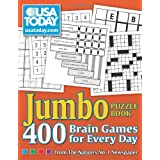USA TODAY Jumbo Puzzle Book: 400 Brain Games for Every Day ~ USA TODAY