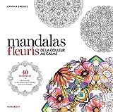 Coloriage mandalas de fleurs...