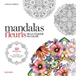 Coloriage mandalas de fleurs