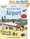 First Sticker Book Airport (Usborne S...