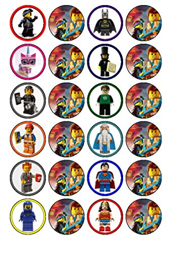 48 MR TUMBLE Edible Cup Cake Toppers Birthday Party Premium Wafer *STAND UP*