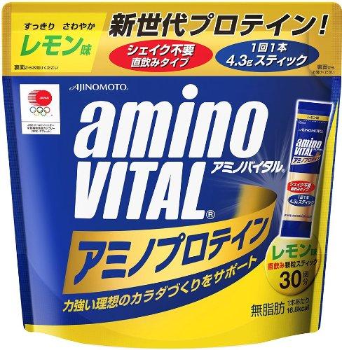 味の素 「アミノバイタル」プロテインレモン 30本
