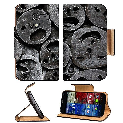 Metal Mask Iron Cut Out Motorola Moto X Flip Case Stand Magnetic Cover Open Ports Customized Made To Order Support Ready Premium Deluxe Pu Leather 5 7/16 Inch (138Mm) X 3 1/16 Inch (78Mm) X 9/16 Inch (14Mm) Luxlady Mobility Cover Professional Motox Cases front-596141