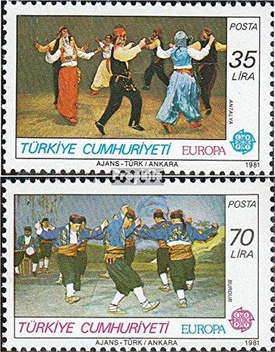 Türkei 2546-2547 (kompl.Ausg.) gestempelt 1981 Europa (Briefmarken für Sammler)