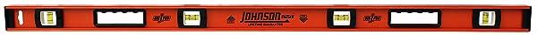 Johnson Level and Tool 1253-4800 Johnson 48-Inch Heavy Duty Professional Aluminum Level (Tamaño: 48)