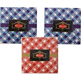 Stylish 150gms Chocolate Check Design Pack(set Of 3)- Dry Fruit Collection