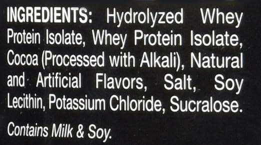 Dymatize ISO 100 Hydrolyzed - 3 lb Gourmet Chocolate