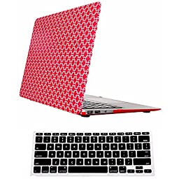 Macbook Pro 13 Case,ACCUCASE(TM) 13-inch macbook pro 13 case,Ultra Slim Rubberized Hard Case Light Weight Matte Cover for MacBook Pro 13-inch (A1278) Psychedelic red
