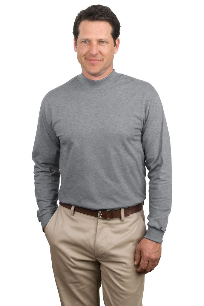 Turtle Neck Mock Mens Sweater