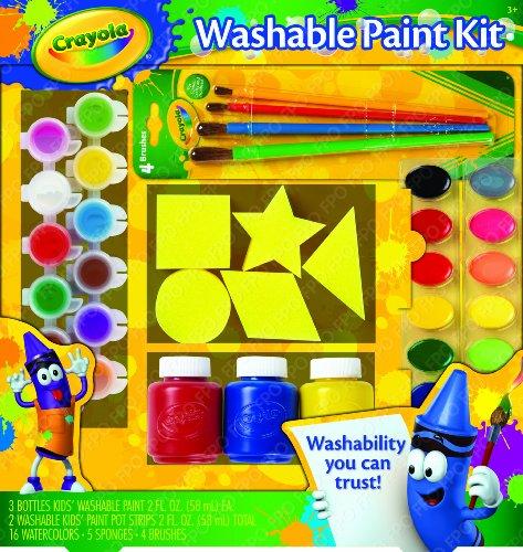 Crayola Washable Paint Kit front-503681