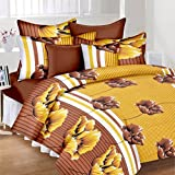 JMT Premium Cotton Double Bedsheet(100% Heavy Stuff Pure Cotton Double Bedsheet With 2 Pillow Cover,size -225x225 Cms, Pillow - 70x45 Cms) - B074KB96G1