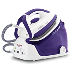 Tefal GV6340 2200W Light and Compact Steam Generator Iron (Purple)