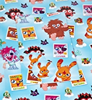 2 Moshi Monsters Boy Sheet Wraps