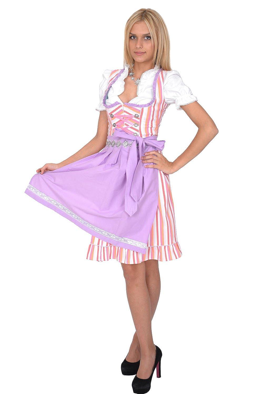 Dirndl Set Trachtenkleid 3tl. Mehrfarbig online kaufen