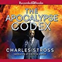 The Apocalypse Codex Audiobook by Charles Stross Narrated by Gideon Emery