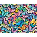 White Mountain Puzzles Butterflies - 1000 Piece Jigsaw Puzzle