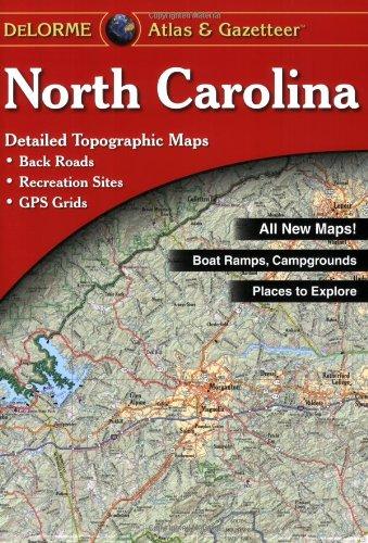 North Carolina Atlas & Gazetteer (North Carolina Atlas and Gazetteer)