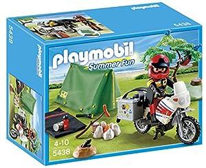 Playmobil Summer Fun 5438 Biker at Campsite
