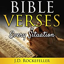 Bible Verses for Every Situation Audiobook by J.D. Rockefeller Narrated by Alan Caudle
