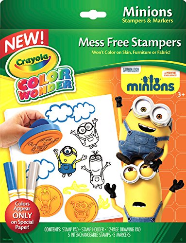 Crayola Color Wonder Stampers, Minions