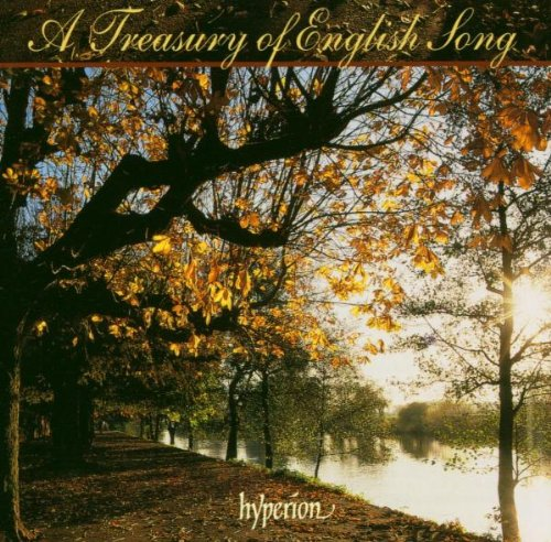 A Treasury of English Song by John [British Composer] Ireland,&#32;Gerald Finzi,&#32;Ivor Gurney,&#32;Benjamin Britten and Ralph Vaughan Williams
