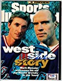 Mark Messier signed 10/7/96 New York Rangers Sports Illustrated PSA/DNA SI