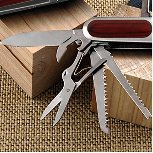 Stainless Steel Pocket Knife Set. The Best Small Folding Pocket Knife and Last Knife You'll Ever Need!