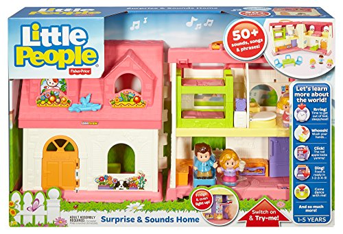Fisher Price Little People Surprise Sounds Home My Toy Games