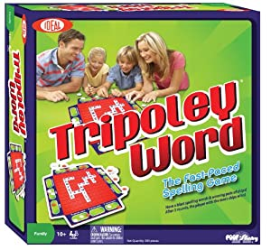 Tripoley Word Game [Toy]