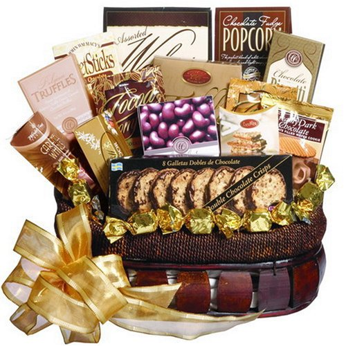 Chocolate Treasures Gourmet Food Gift Basket