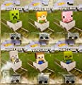 Hot Wheels Target Exclusive Complete set of 6 Minecraft Carts by Mattel