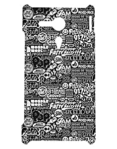 Crackndeal Back Cover for Sony Xperia SP