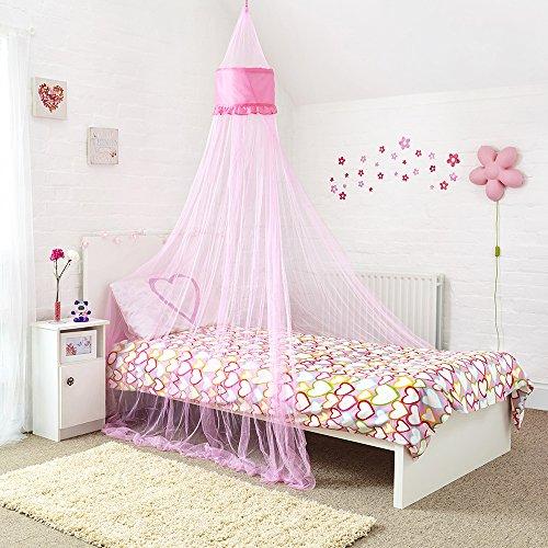 Mosquito Nets 4 U -Pink Angelo letto a baldacchino per Little Princess