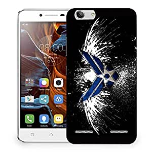 Snoogg Military Logo Designer Protective Phone Back Case Cover For Lenovo K5 Vibe