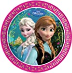 Disney Frozen Party Paper Plates x 8