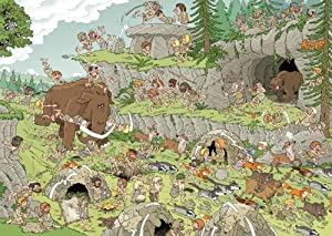 500 Pieces of History - The Stone Age 500 Piece Jigsaw Puzzle